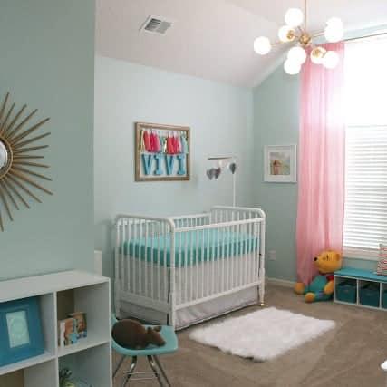 DIY //  POST MOD BABY NURSERY