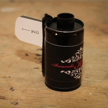 DIY  //  FILM CANISTER SAVE THE DATE