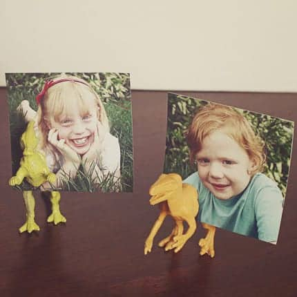 DIY  //  THREE LITTLE MONKEYS (+ DIY DINOSAUR) LOVE