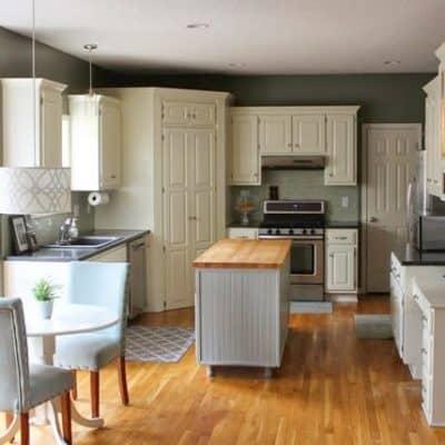$500 affordable diy kitchen remodel