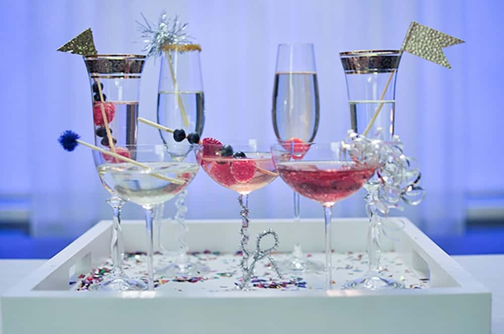 NYE Cocktail DIY ideas
