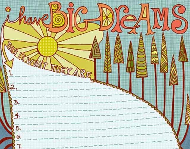 FREEBIE LOVE  // 2015 GOALS & DREAMS SHEET