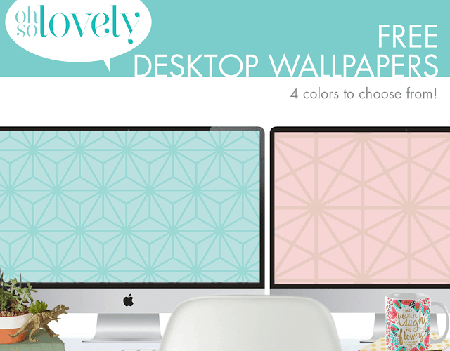 FREEBIES  //  TONE-ON-TONE DESKTOP WALLPAPERS