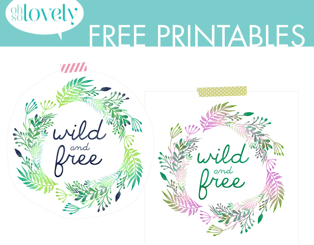 VIVI'S PLAYROOM PLANS + WILD & FREE PRINTABLES