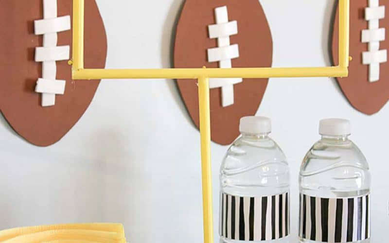 DIY  //  SUPER BOWL PARTY DECOR