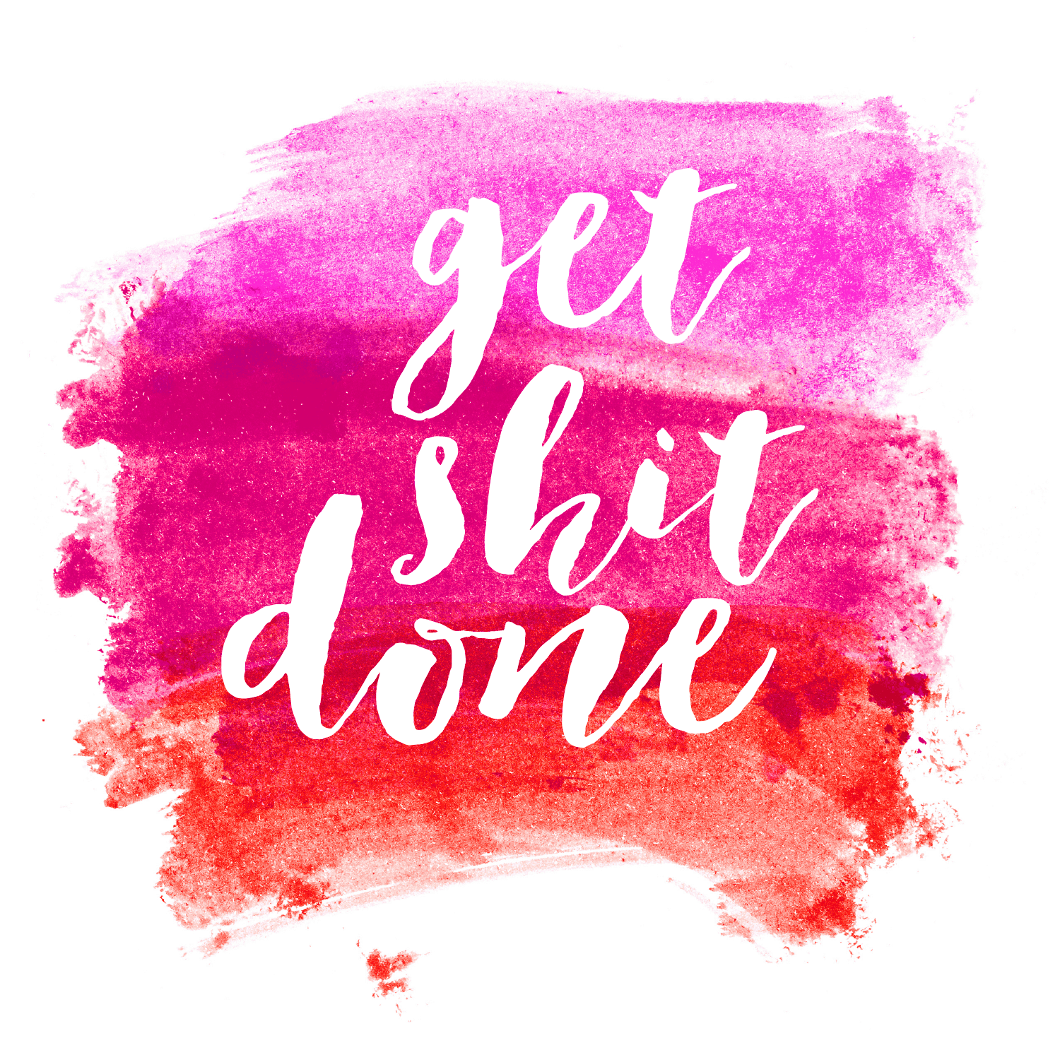 FREEBIES // GET SHIT DONE WATERCOLOR DESKTOPS + PRINTABLES - Oh So ...