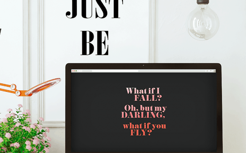 FREEBIES  //  WHAT IF YOU FLY? DESKTOP WALLPAPERS