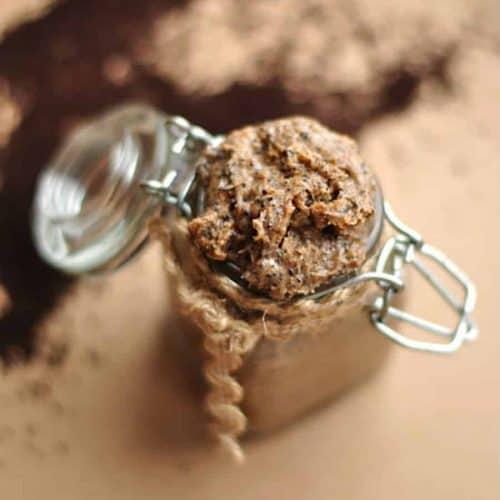 DIY coffee body scrub recipe