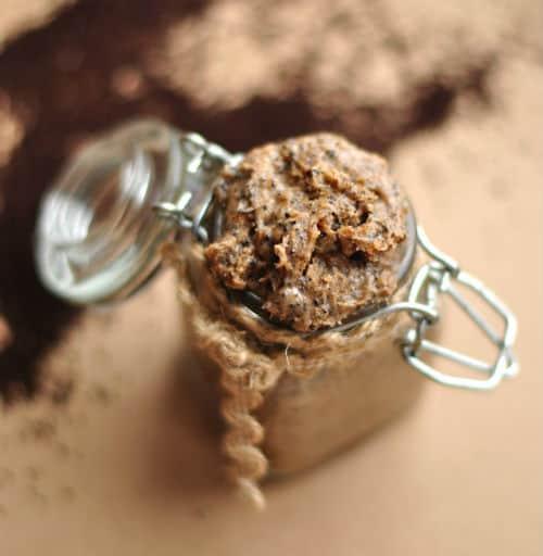DIY coffee-body scrub recipe