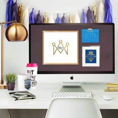 freebie KC Royals May 2016 Desktop Calendar