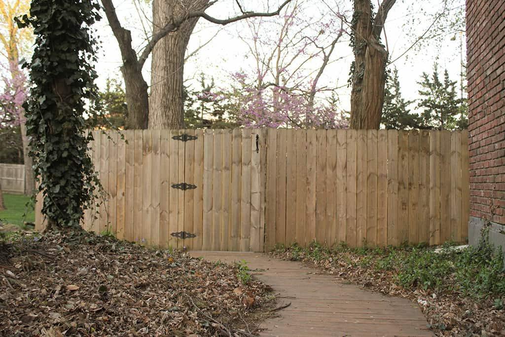DIY national hardware gate latch installation tutorial DIY GATE HARDWARE TUTORIAL GIVEAWAY