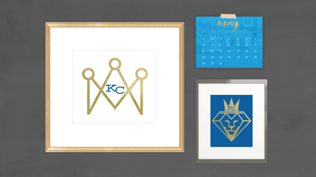 freebie KC Royals May 2016 Desktop Calendar