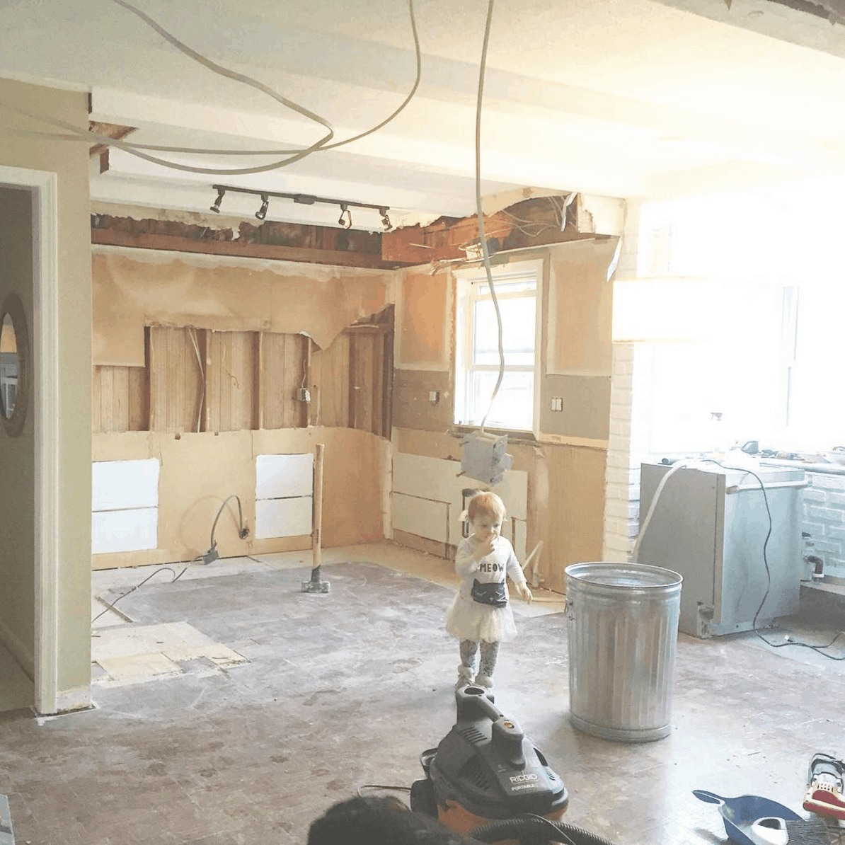 diy ikea kitchen layout before photos