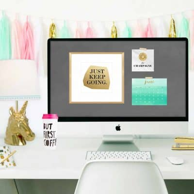 June 2016 desktop wallpaper calendar freebies