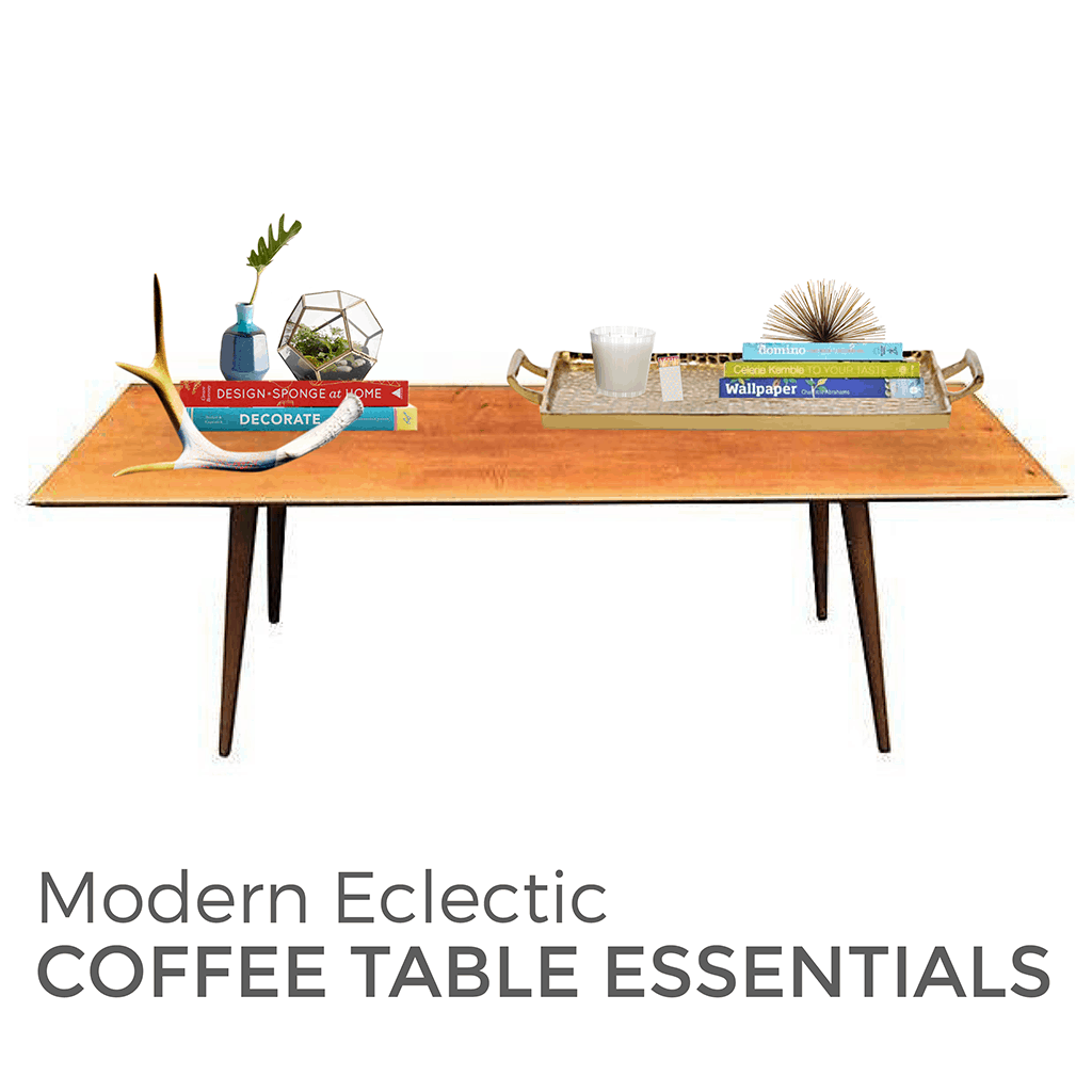 @ohsolovely_blog's cover photo for 'Modern Eclectic Coffee Table Style Essentials'
