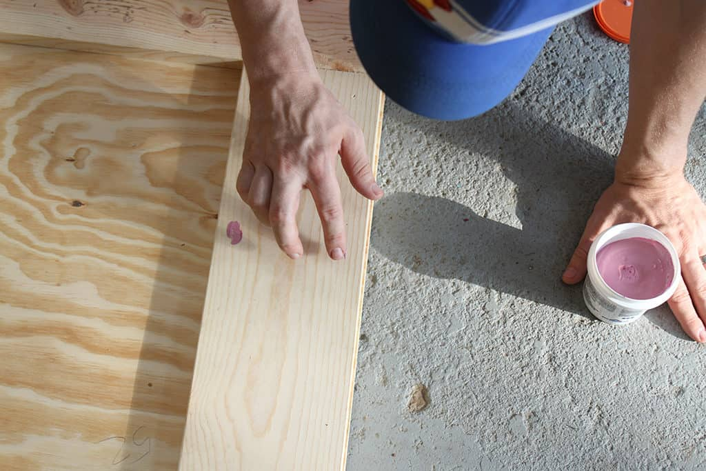 How to build your own DIY sliding barn door tutorial