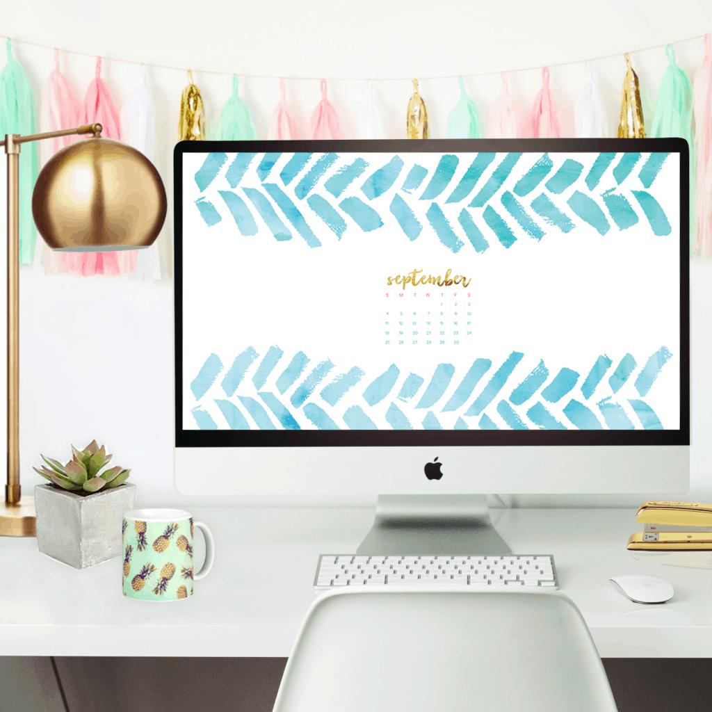 Free September desktop wallpaper calendars