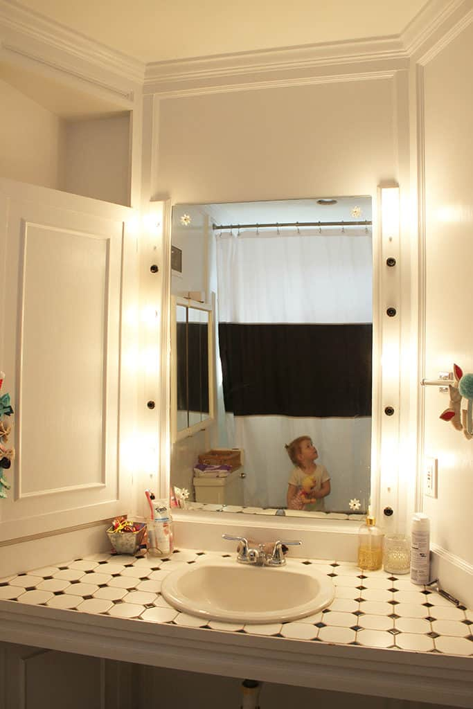 DIY Guest Bathroom Remodel - Before Photos