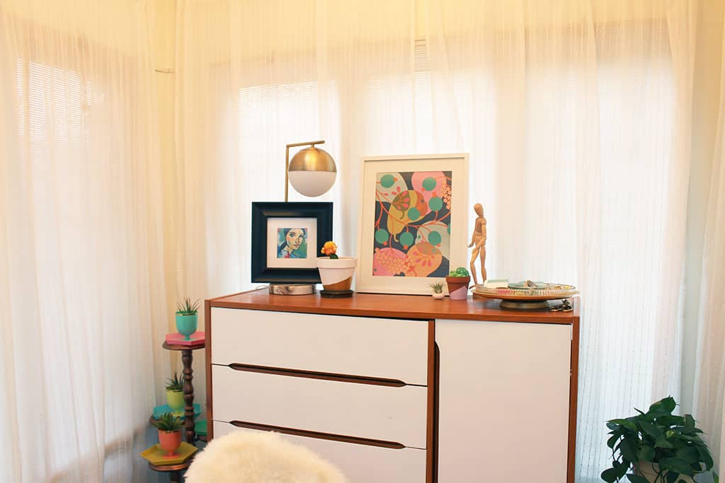 Home Tour Office Nook