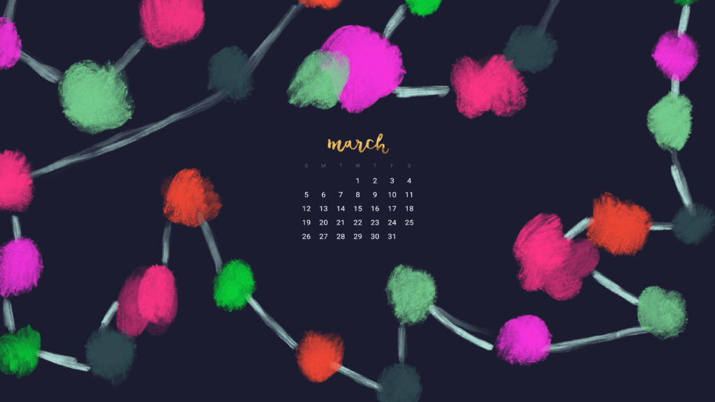 Free March 2017 Calendar Wallpapers
