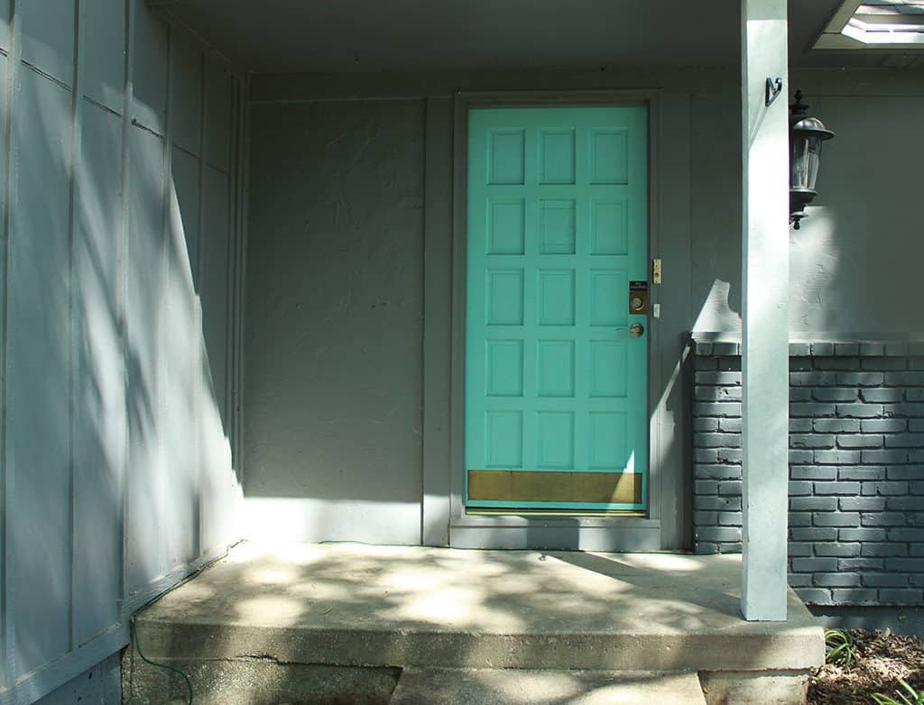 Spring Front Porch Makeover with Larson Doors