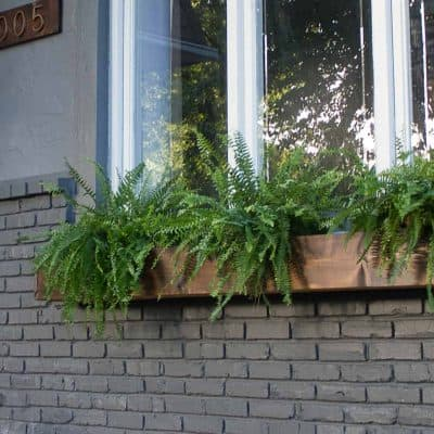 DIY window box tutorial