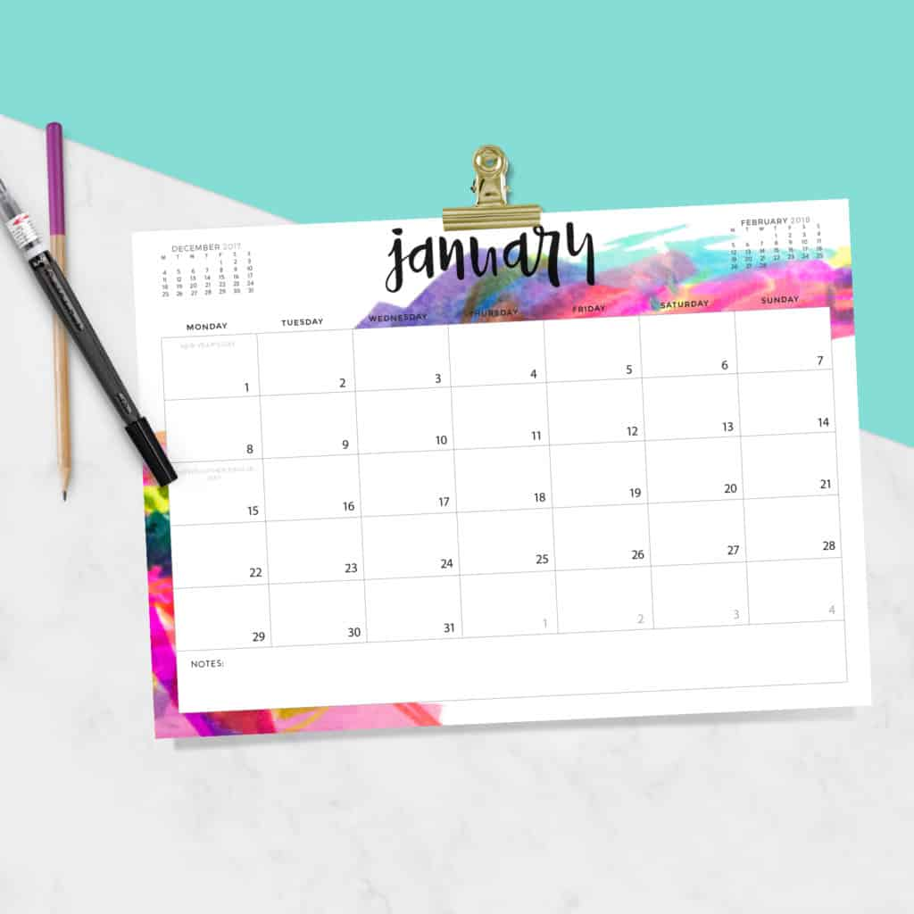 Cute Calendar February 2018 : Download your free printable calendars today there are