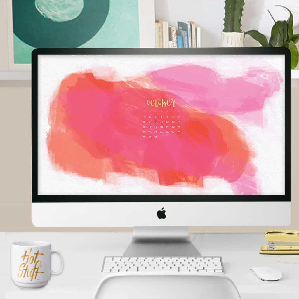 Oh So Lovely Blog shares 3 FREE October 2017 calendar wallpapers available in both Sunday and Monday start dates. Download yours today!