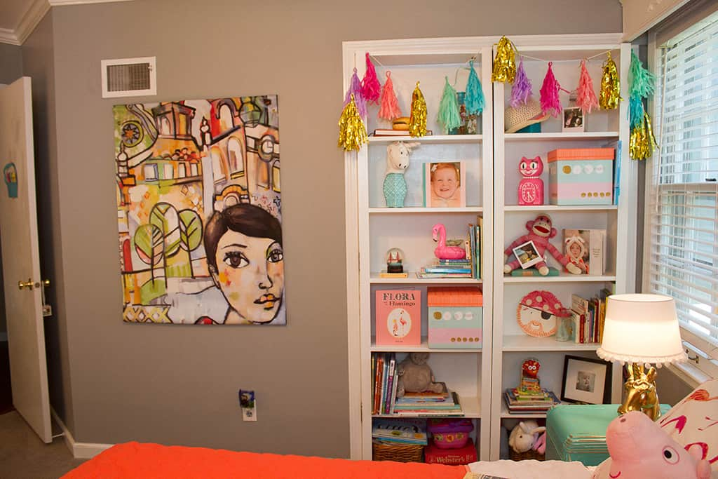 Oh So Lovely blog takes you on a toddler home tour—a bedroom and two playrooms.