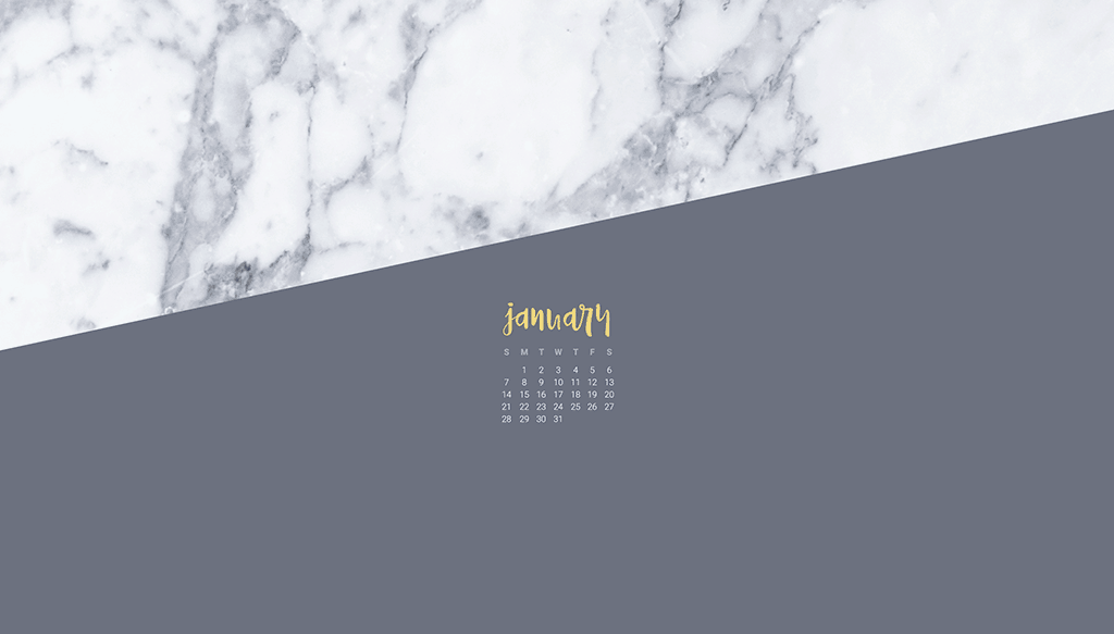 FREE January 2018 wallpapers