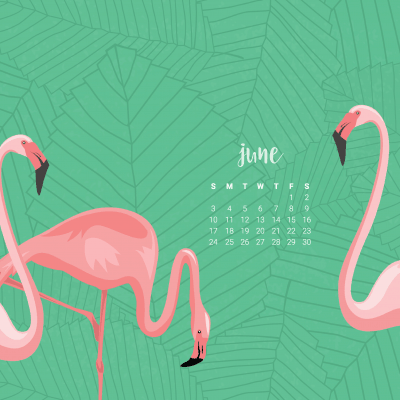 Audrey of Oh So Lovely Blog shares 4FREE June Desktop Wallpapers! They're colorful and summery, available in both Sunday and Monday start dates for desktop and mobile. Download yours today!