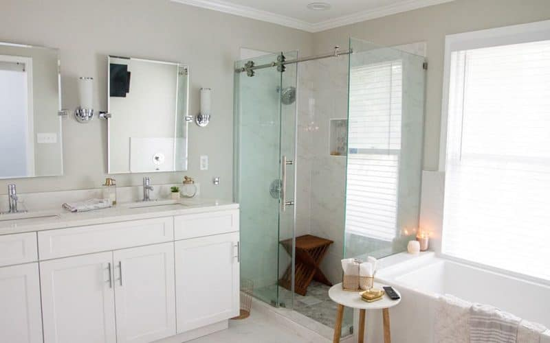 HOME TOUR  //  MASTER BATHROOM REMODEL