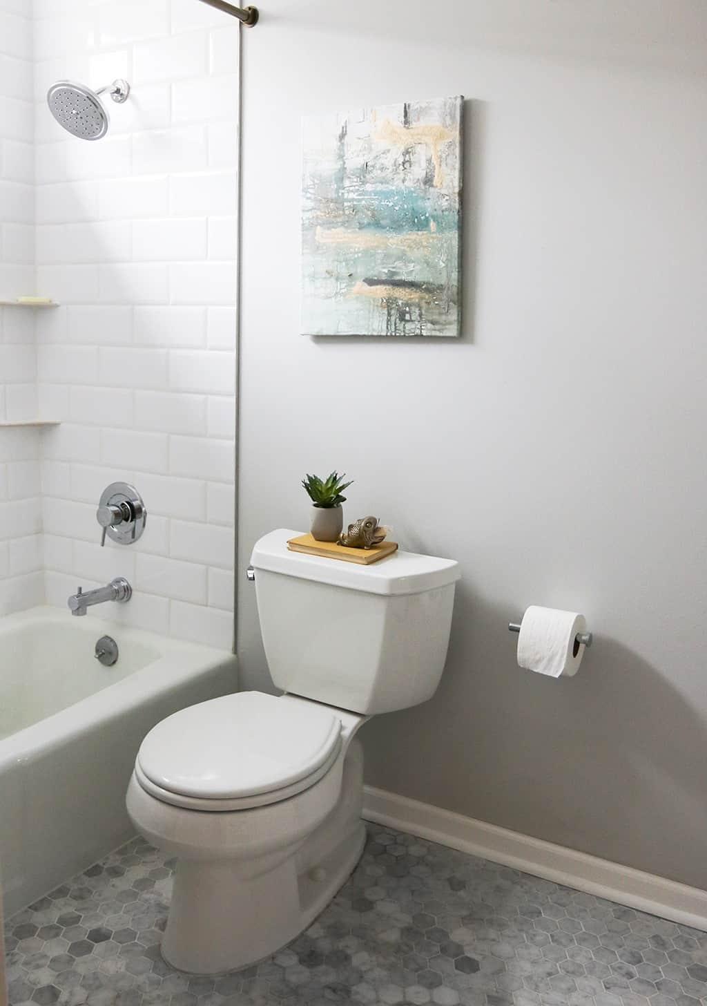 Classic modern guest bathroom remodel