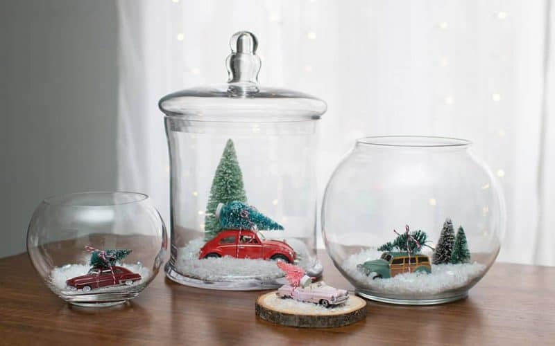 DIY  //  HOLIDAY TERRARIUM