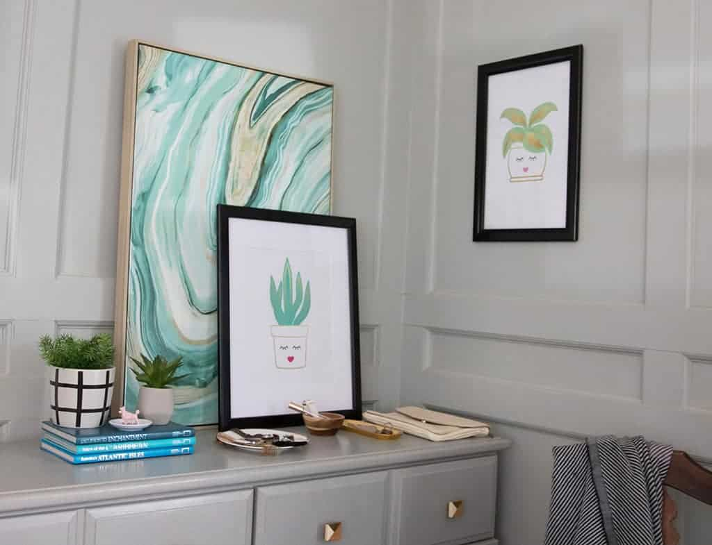 Audrey of Oh So Lovely Blog shares her love of SnapeZo frames, which pair perfectly with her free printables. Read all about it!