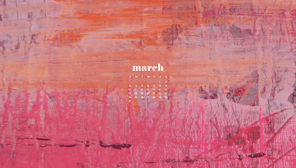 Audrey of Oh So Lovely Blog shares 10 FREE March desktop wallpaper calendars. They're available in 10 different designs, in both Sunday and Monday starts, for both desktop and smartphone. Download yours today!