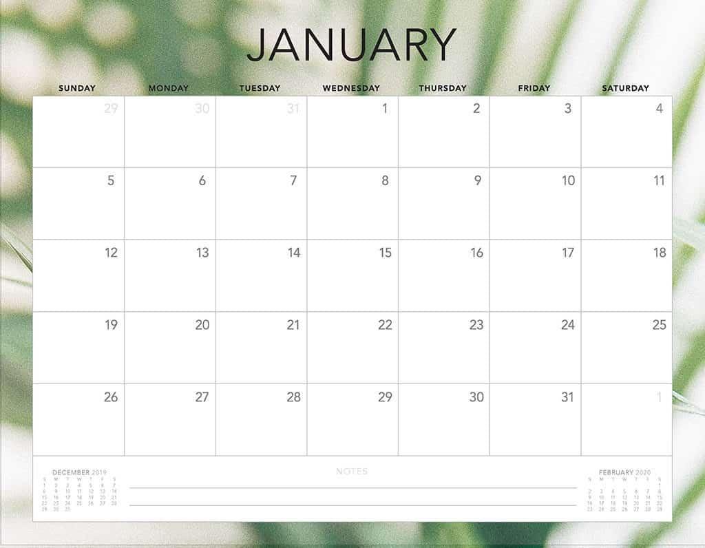leafs 2 2020 free calendar