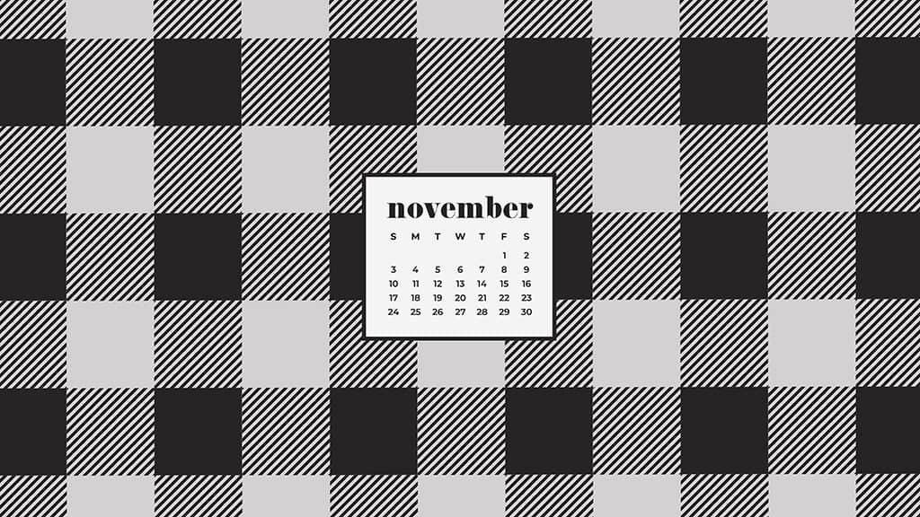 OhSoLovely November2019DesktopCalendars Sunday 01
