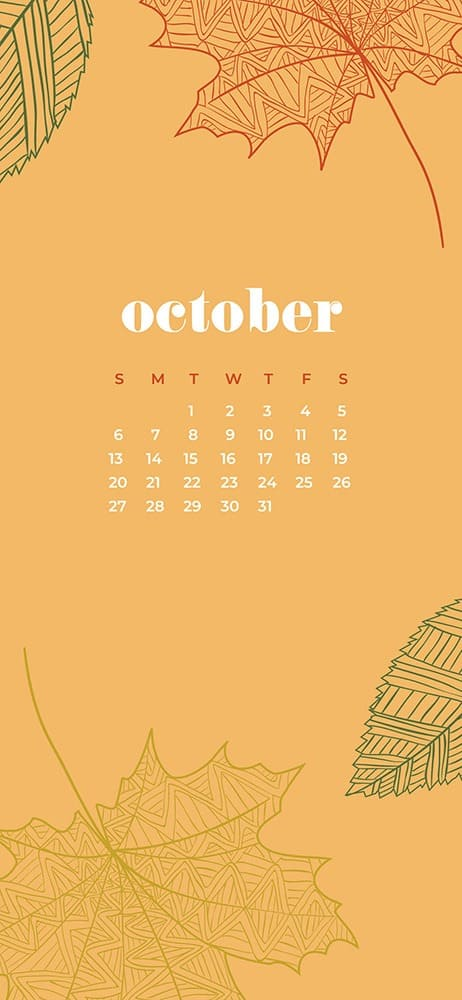 ctober 2019 desktop wallpapers leaves