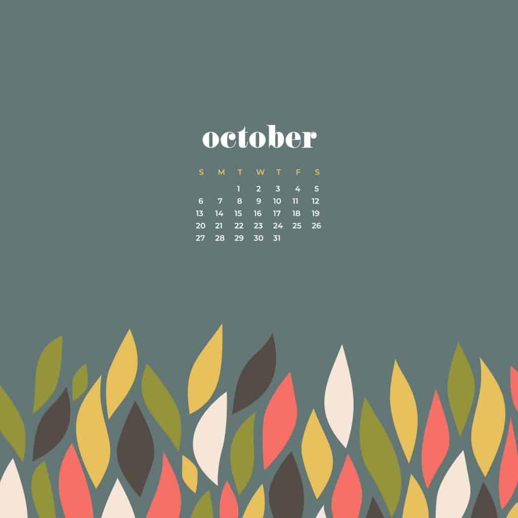 Spring Home Decor 2019: FREE October 2019 Desktop Wallpapers