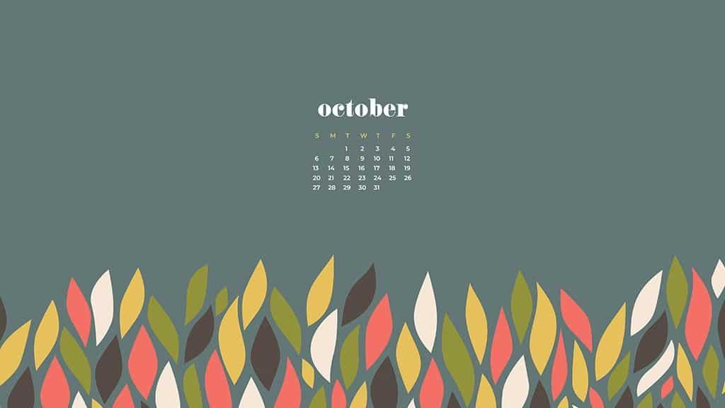 FREE October 2019 desktop wallpapers