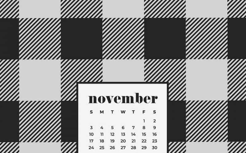 FREEBIES  //  NOVEMBER 2019 DESKTOP WALLPAPERS