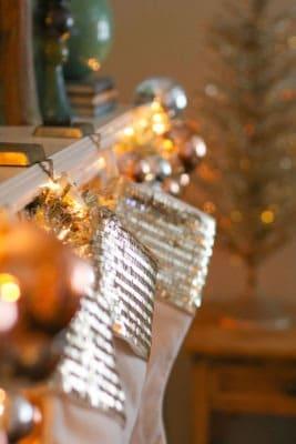 stockings on fireplace