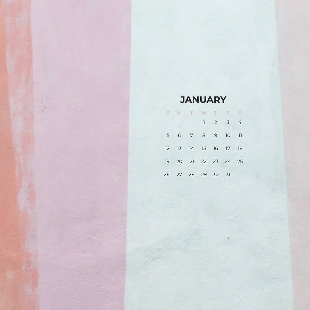 Free January Desktop Calendars 24 Designs To Choose From