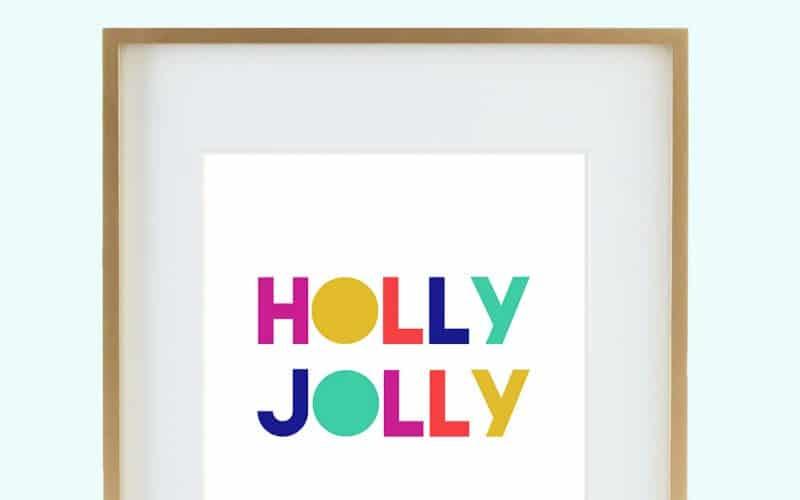 FREEBIES  //  HOLLY JOLLY