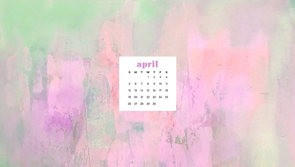 free April wallpaper springy