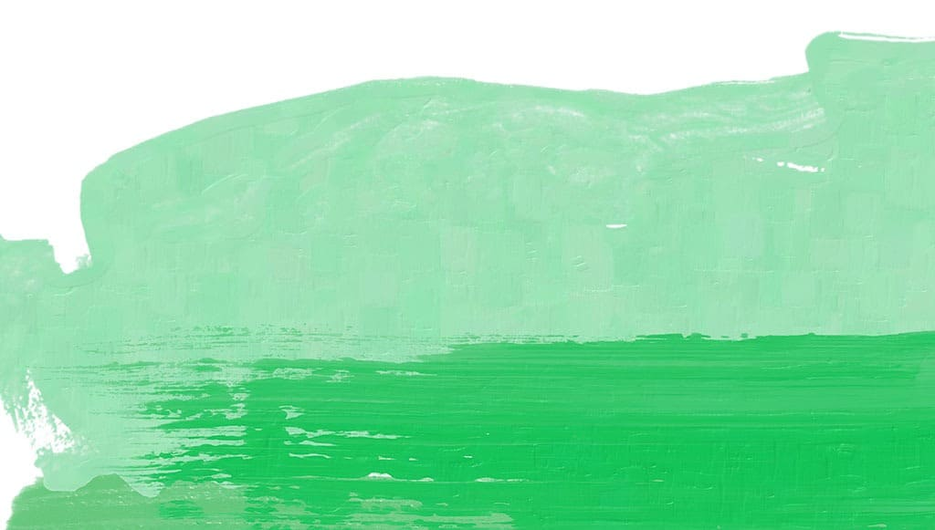Free June wallpapers — green paint abstract