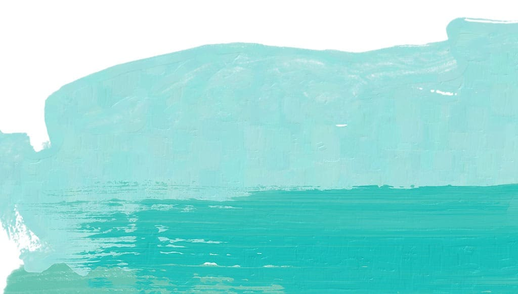 Free June wallpapers — turquoise paint abstract