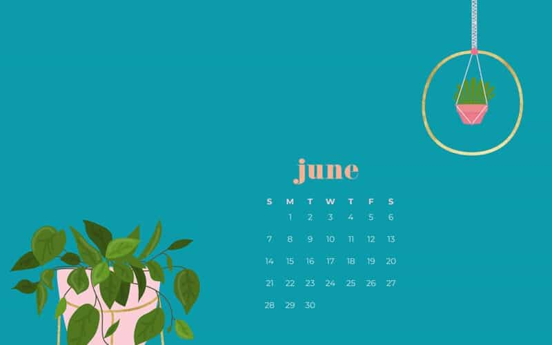 9 FREE JUNE WALLPAPERS