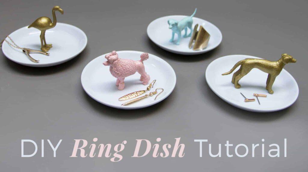 DIY ring dish